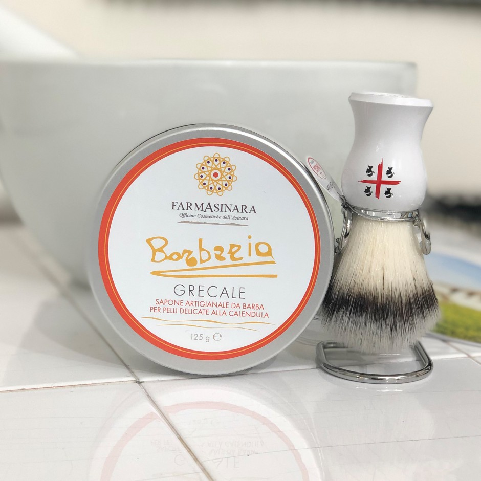 Sapone Artigianale da barba Grecale