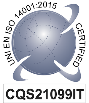 Uni En Iso 14001:2015 certified